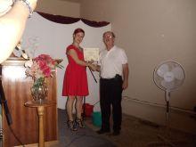 Aug 2014 Leadership class graduation