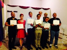 August 2014 graduation from Preaching 101 class by Joel Houts