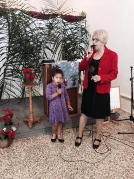 Singing for December service