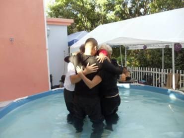 Dec 2014 Baptism rejoicing
