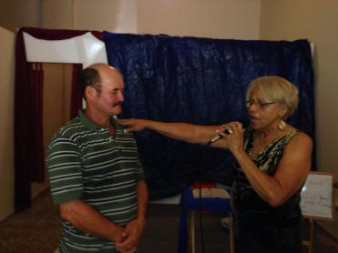 Paito dedicated his life to God