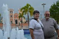 Robert and Lana in San Sebastian