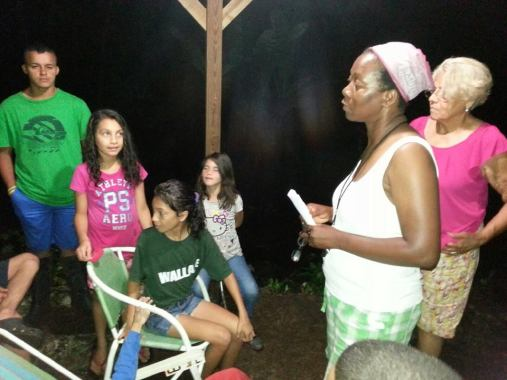 Andria Mckenzie from NY SDB leads lessons at Summer Camp