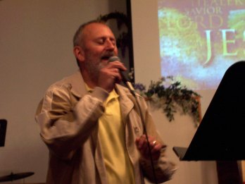 """Darwin Van Horn sang """"Your Name"""" with a coordinating video show"""
