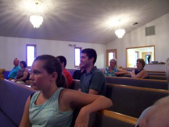 A glance at the audience with a Matthew Thomas sighting!