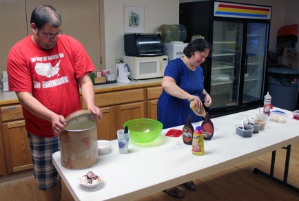 Make-your-own Ice Cream Sundaes