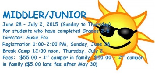 camp joy junior camp