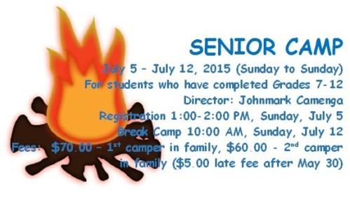 camp joy senior camp