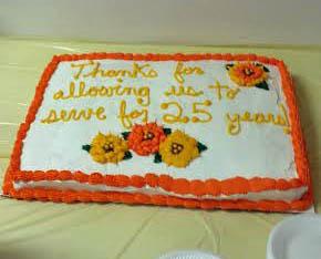 25 ann cake