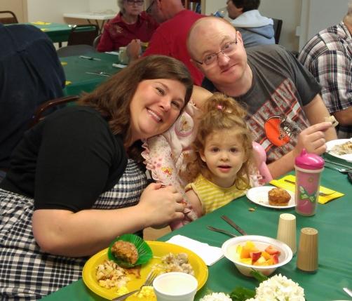 Food, fun, family!