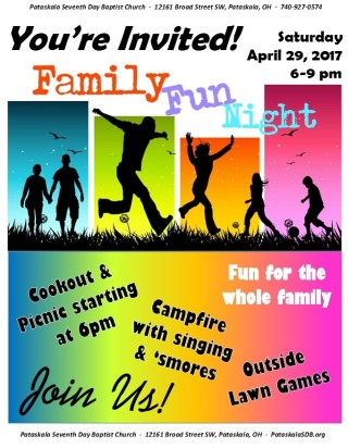 April Family Night
