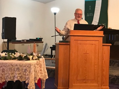 """Robert Van Horn sermon on """"Proofs"""""""